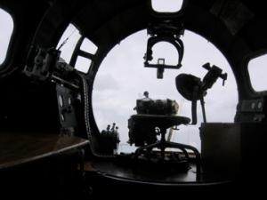 B-17 Bombardier\'s Seat